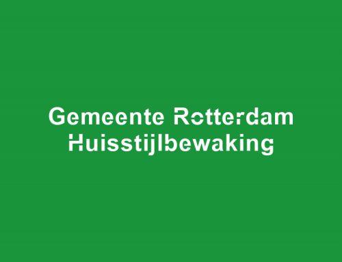 Huisstijlbewaking Gemeente Rotterdam